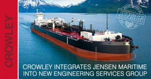 Crowley integrates Jensen Maritime into new engineering services group