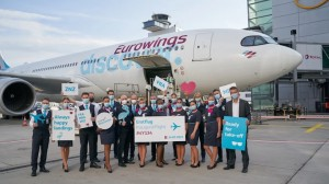 Lufthansa Cargo markets freight capacities of Eurowings Discover