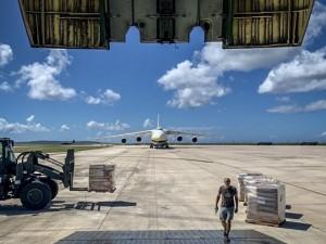 ANTONOV Airlines completes 23 flights in under a month to help rebuild hurricane-stricken Saipan working with Air Partner plc