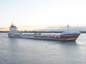 The Port of Montreal welcomes the first ocean-going vessel of 2019