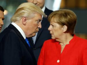 Trump Is Starting to Get Under Merkel's Skin