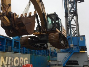 Steder Group moves construction equipment to Egypt