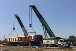 EXG handles 182 Coaches for India-Sri Lanka Railway Project