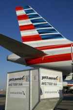 Jettainer manages unit load devices for American Airlines