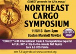 Powerful mix of public/private sector speakers at CONECT Cargo Symposium