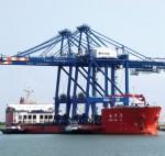 Port Freeport's first big cranes mark new era along Texas Gulf