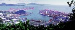 Hong Kong's port growth challenged by neighbors