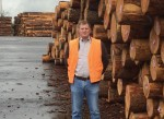 Pacific Lumber & Shipping's Leeds skillfully putting the log in logistics