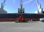 Scrap metal exporter loads first vessel from Port Canaveral