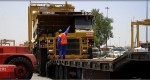Heavy mining equipment moved from Jebel Ali to Oman