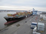 Port of Philadelphia welcomes largest container vessel ever to call at Packer Avenue Marine Terminal