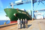 Evergreen Line's Ital Lunare makes maiden calling into Port of Boston