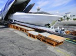 Cigarette Marauder power boat sets sail with Volga-Dnepr to Nice