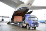 Volga-Dnepr Airlines delivers upper stage breeze-M unit to Baikonur for launch of Yamal-401 satellit