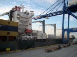 Mediterranean Shipping Co. arrives at Port Freeport