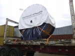 Alexander Global Logistics moved cable reels from UK via China to Mongolia