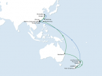 CMA CGM joint service between North East Asia, Australia and New Zealand with CSCL, OOCL, PIL