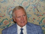 Basketball great Jerry West provides the stirring opening keynote address at SMC3's Connections 2018 at The Greenbrier in White Sulphur Springs, West Virginia. (Photo by Paul Scott Abbott, AJOT)