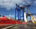 HANSA HEAVY LIFT moves fully assembled Liebherr cranes from Ireland to the UK