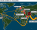 Energy choke points critical to transit of global energy supplies