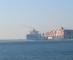 Collision delays Suez Canal traffic (Video)