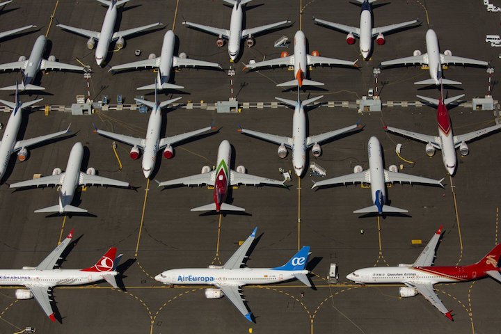 Aviation CEOs warn of Europe-US split on Boeing Max return