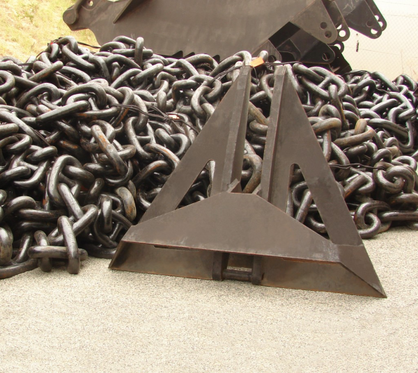 Anchors and chains are some of the products offered through GAC Saudi Arabia.