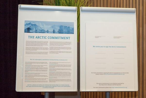 Arctic Commitment launch