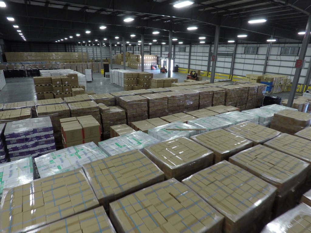 Averitt distribution fulfillment warehouse