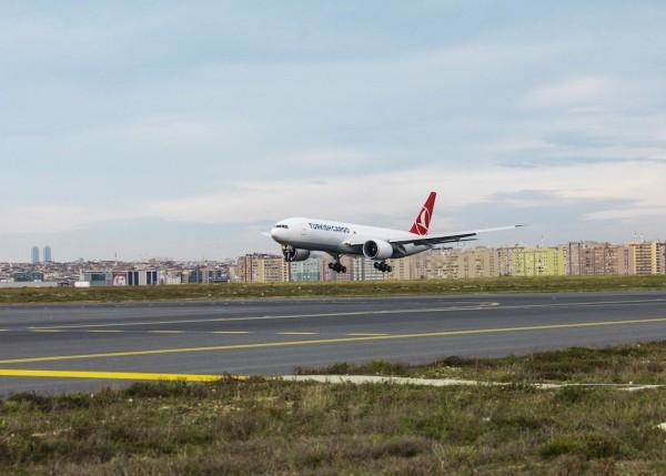 Turkish Airlines' Boeing 777