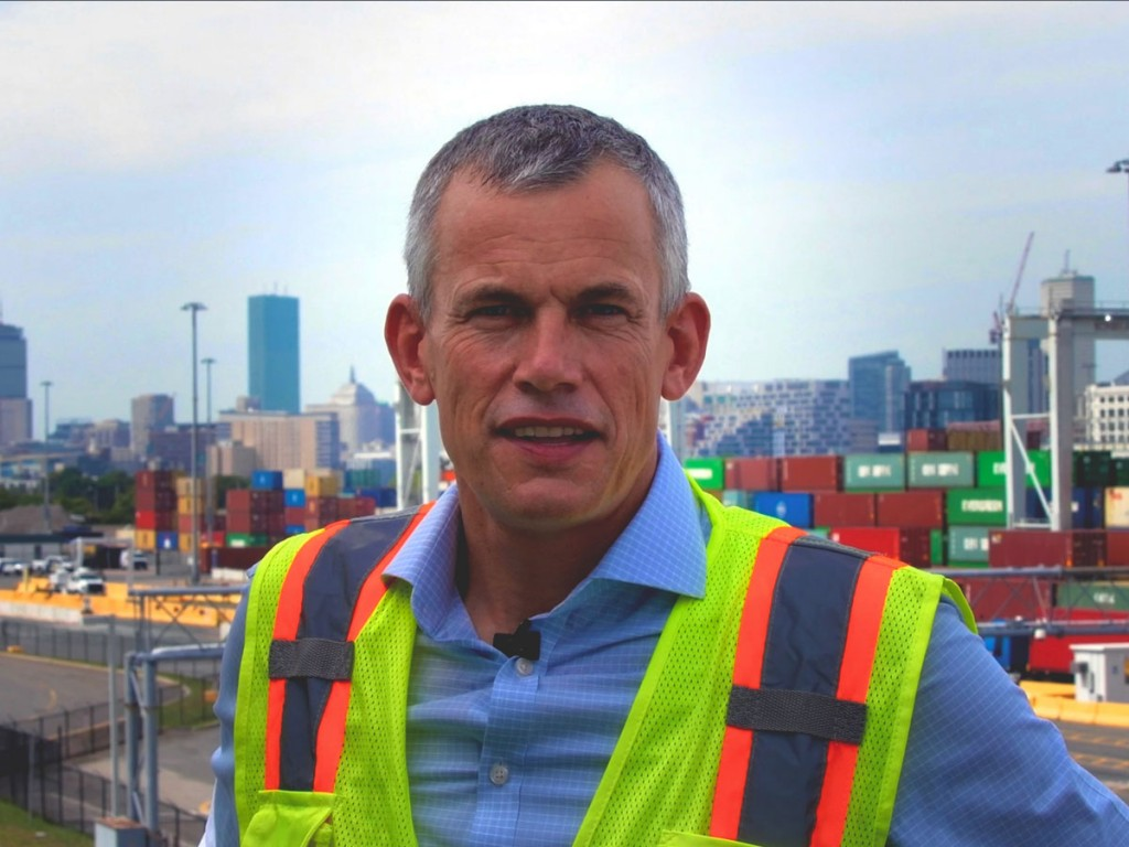 Mike Meyran, port director of the Massachusetts Port Authority, looks forward to welcoming containerships with capacities of as many as 14,000 twenty-foot-equivalent units to the Port of Boston following completion of more than $850 million in infrastructure enhancements.
