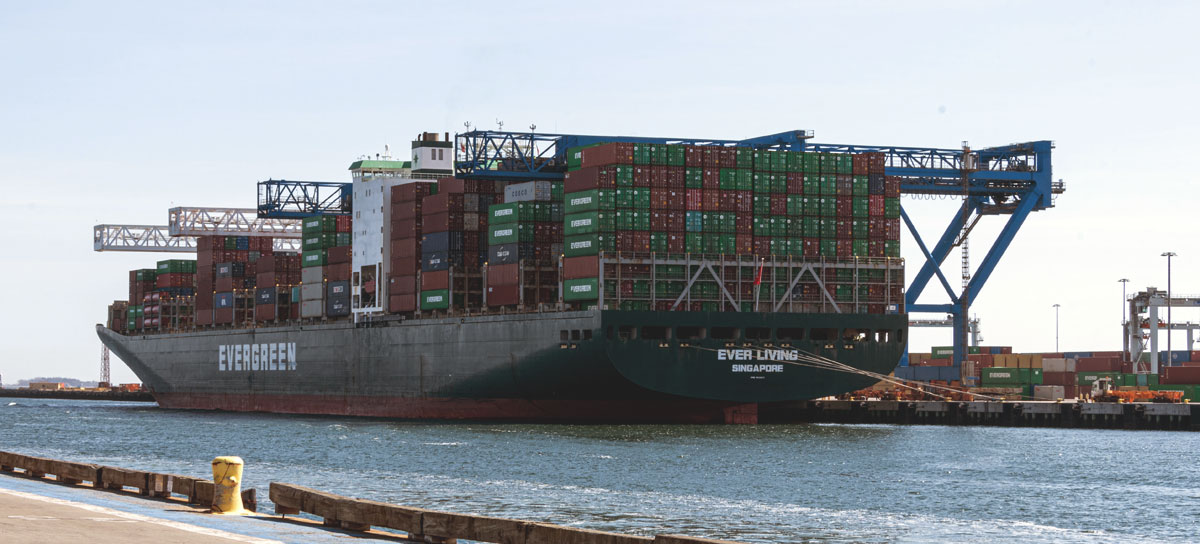 Vessels of Evergreen Line and Ocean Alliance partners – including COSCO Shipping, OOCL and CMA CGM – already offer direct weekly service to the Port of Boston from North Asia.