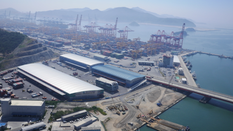 Busan New Port, Free Trading Zone