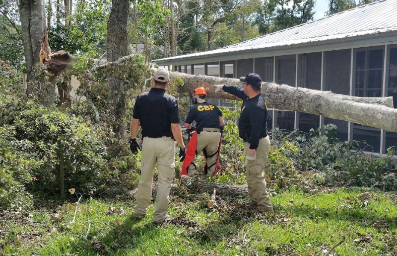 FLETC CBP officers assist in Georgia in Irma recovery | AJOT COM