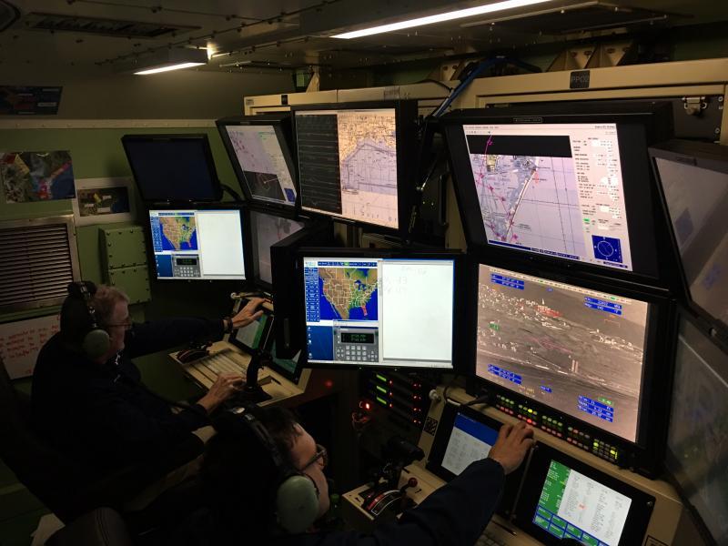 Air and Marine Operations crews pilot an UAS from Corpus Christi, Texas capturing imagery in Florida post Hurricane Irma.