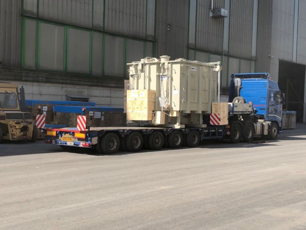 A recent LO/LO shipment of transformers handled by Thruex from Genoa in Italy to Sohar in Oman.