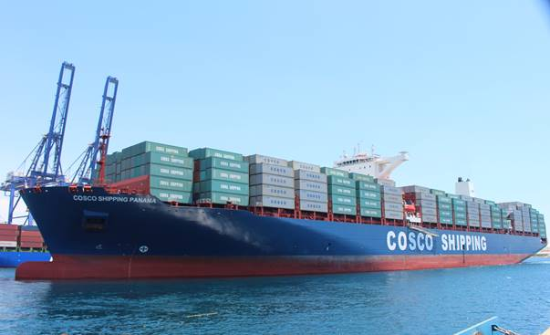 Departing Greek Port of Piraeus today, COSCO Shipping Panama will make the inaugural transit of Expanded Panama Canal on Sunday, June 26
