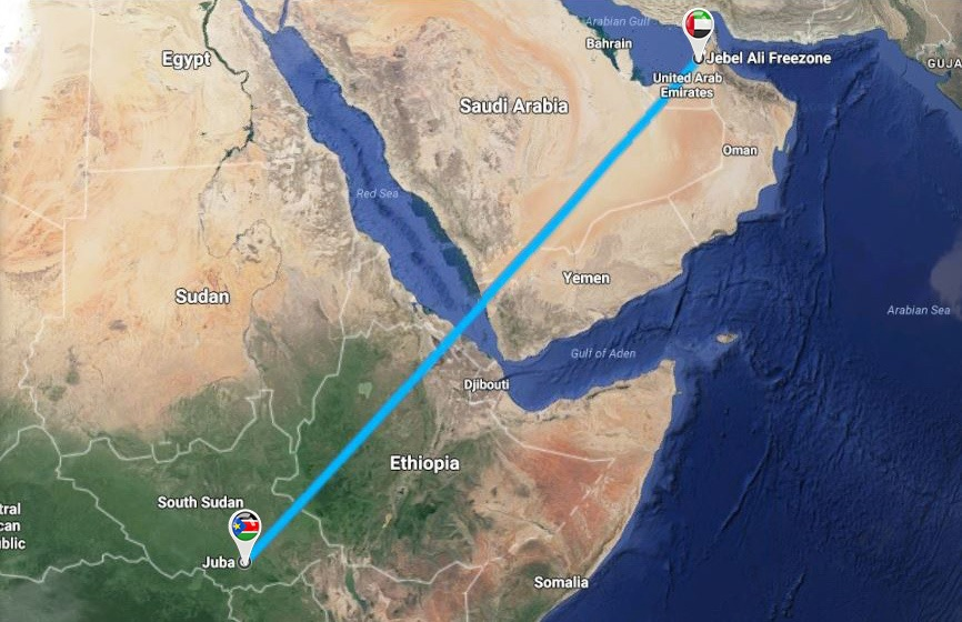Darka Offer Unique LCL Services from Jebel Ali Port to Juba, South