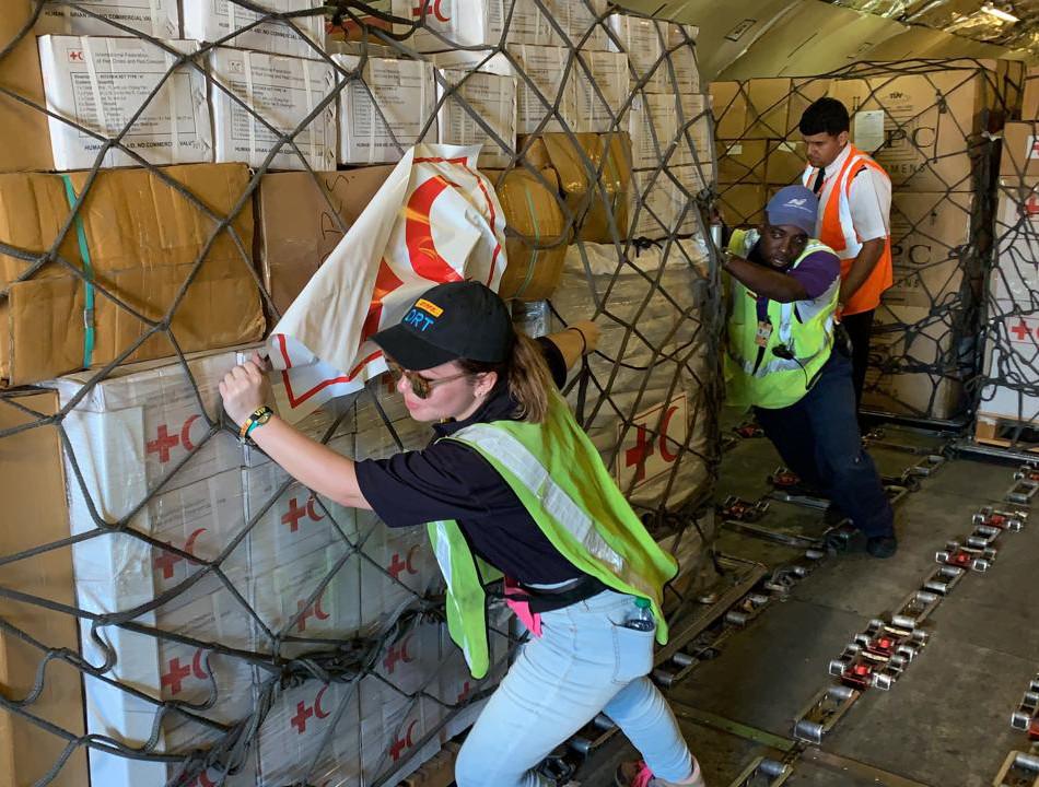 Deutsche Post DHL Group sends team to provide logistics