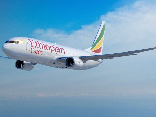Ethiopian New B737-800 freighter