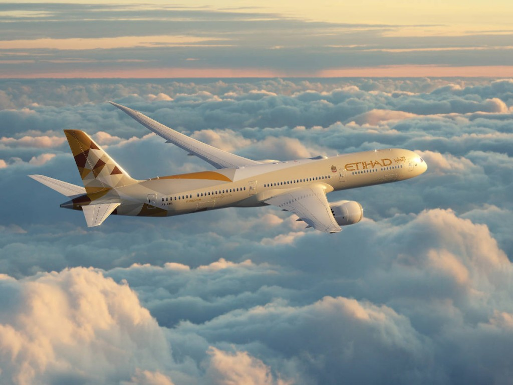 Etihad Airways to fly direct to Israel staring March 2021