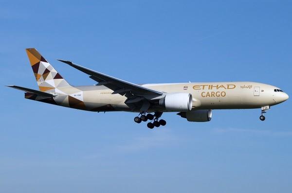 Etihad Airways B777-200F aircraft