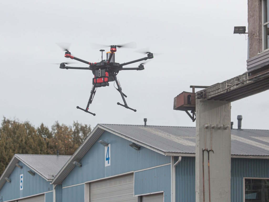 Automated defibrillator delivery by drone in Helsinki