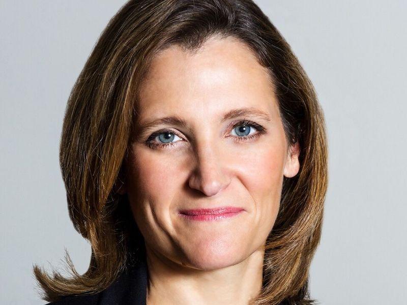 Chrystia Freeland, Deputy Prime Minister