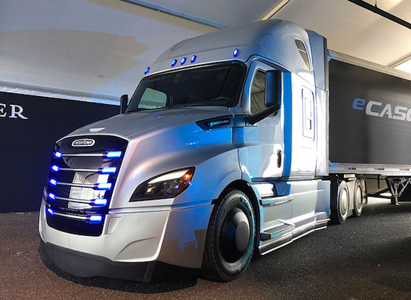 The updated Freightliner Cascadia