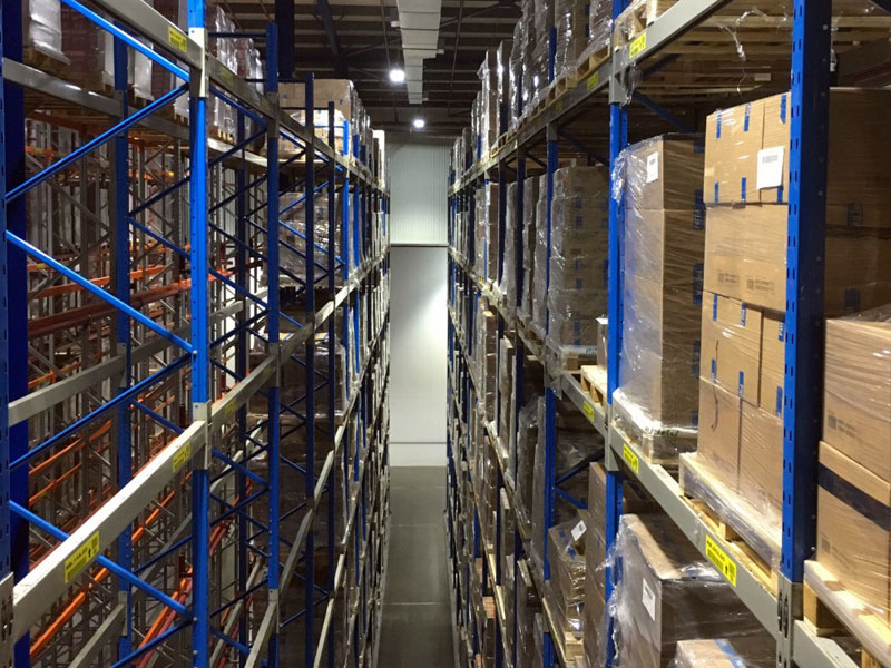 GAC Dubai's new 1,700 pallet specialist facility for food with high likelihood of taint.