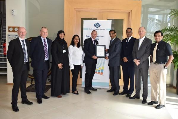 GAC Dubai Contract Logistics operations meet ISO 22000:2005