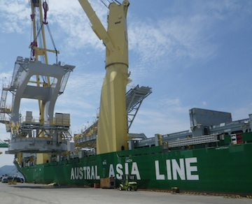 New Austral Asia Line services comes to the Port of Everett.