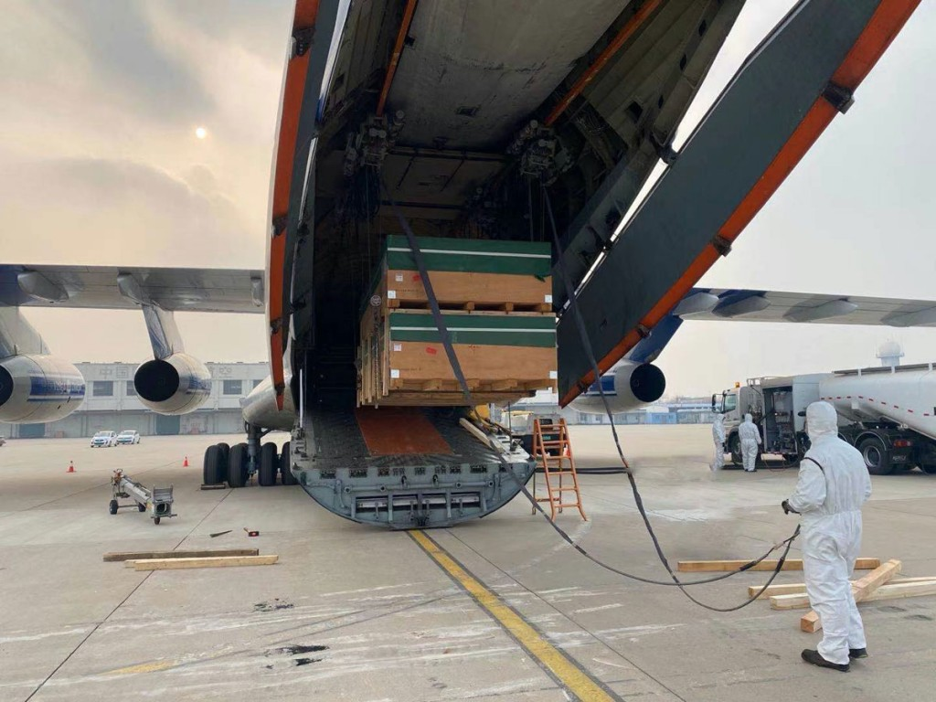 IL-76 loading in China