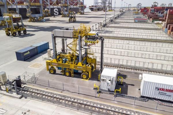 Kalmar FastCharge at DP World London Gateway